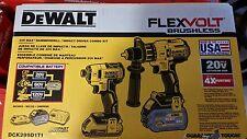 NEW Dewalt Dck299d1t1 FLEXVOLT Lithium Ion Cordless Brushless Combo Tool Kit