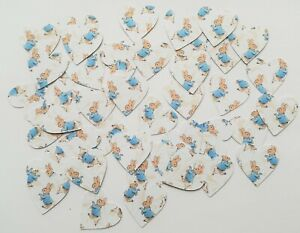 Peter Rabbit Confetti Table Scatters Party Decoration - Heart Shape 100 pieces