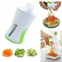 1 pc Spiral Funnel Vegetable Grater ABS Stainless Steel Carrot Cucumber Slicer C