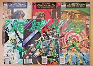 Green Arrow miniseries issues 1-4 & Longbow Hunters 1-3 (DC 1983 comic run/lot)