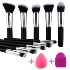 Conjunto De Brochas Y Pinceles Kabuki Esponja Maquillaje Profesional Beakey