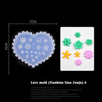 3d Acrylic Mold Silicone Nail Art DIY Flower Template UV Gel Manicure Pattern