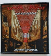 Status Quo Back To Back woven Patch