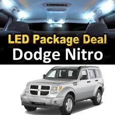 For 2008 2009 2010 2011 Dodge Nitro LED Lights Interior Package Kit WHITE 8PCS