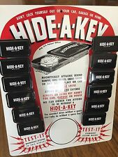 Rare Find New Hide A Key Display Board Complete With 12 Key Boxes