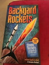 NEW~ Backyard Rockets Catapults & Kaleidoscopes Science Kit & Book ~SEALED Kids