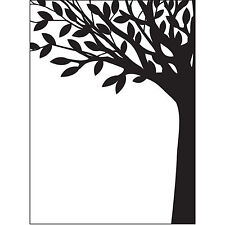 Leafy Tree Trunk Darice Embossing Folder for Cardmaking, Scrapbooking, etc