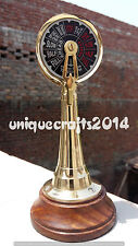 Ship Engine Room Marine Telegraph Vintage Brass Working Ring Bell Decor