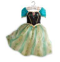 Disney Store Frozen Princess Anna Costume Dress Size 5/6 7/8 9/10