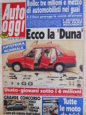 Auto OGGI n°7 1987 Range Rover Turbo Diesel contro Mercedes 300 GD  [Q202]