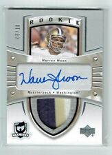 13-14 UD The Cup Sidney Crosby Tribute  Warren Moon  /10  Auto  Patch  HOF