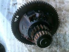 1949 John Deere B Tractor JD main transmission ring & pinion differential gear