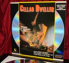 'CELLAR DWELLER' - HTF Cult Horror Gore-fest on Digital Stereo Laser Disc, MINT