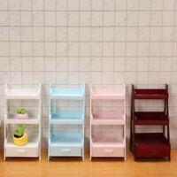 1:12 Dollhouse Flower Stand Shelf Miniature Furniture Cabinet Decor DIY Toys