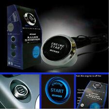 Universale 12V Car Engine Start pulsante interruttore accensione avviamento LED