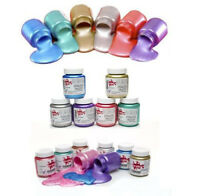 Scola Premium Pearl Acrylic Paint 6 x 100ml Assorted Pearlescent Colours PEP100
