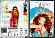 Madonna - The Video Collection '93-'99 (DVD) R-2-6, NEW, FREE POST IN AUSTRALIA