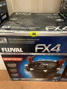 Fluval Fx4 High Performance Canister Filter ~ Brand New ~ Never Used