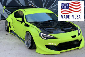 Hood clear/smoked rare JDM for Scion / Subaru / Toyota FRS, BRZ, 2013-2020,2DR