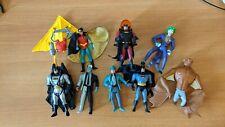 Batman Figuren (Kenner): 3x Batman, Joker, Robin, Manbat, Two-Face, Riddler