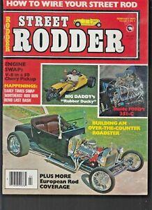 STREET ROD VOL. 6 #2 1977 -RODDER ''MANY CAR PICS'' FN+