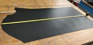 BLACK Butt Split Leather Panel 2.0mm Thickness LOT 2232