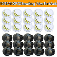10-100 Cycling Sport Masks Breathing Valve Respirator Filter Replacement Parts