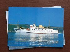 ca7 postcard unused r m m v scillonian iii