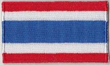 Thailand Country Flag Embroidered Patch T4