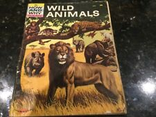 THE HOW AND WHY WONDER BOOK OF WILD ANIMALS #5027