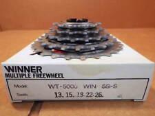 New-Old-Stock Suntour Winner 5-Speed Freewheel (13x26) w/Silver Finish