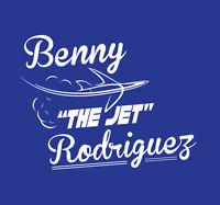 Benny The Jet Rodriguez shirt The Sandlot classic movie LA Dodgers Baseball