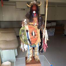 Cherokee Indian Warrior - Hand Made