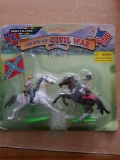 Britains ACW Deetail Confederate Cavalry Carded (lot 2642)