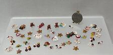 Vintage Artisan J ORR Hand Sculpted Christmas Ornaments Dollhouse Miniature 1:12