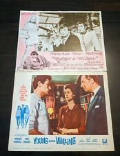 Lot Of 2 Rare Authentic Vintage Movie 11x14 Lobby Cards Young And The Willing