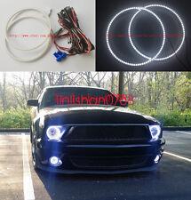 2x LED 7000K LED Angel Eyes kit Ultrabright angel For Ford Mustang 2005-09