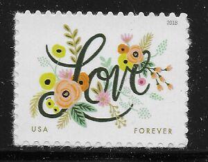US Scott #5255, Single 2018 Love VF MNH