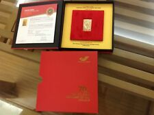 Vietnam Stamp company issues special philatelic product: Gold plated...