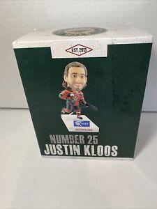 Justin Kloos Iowa Wild (Minor League) Bobblehead, new in box - 95KGGO