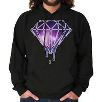 Bleeding Melting Galaxy Cool Shirt Cute Edgy Diamond Designer Hoodie