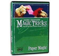 PAPER MAGIC TRICKS DVD EZ Instructional Torn & Restore Money Bill Dollar Pen Gag