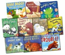 Little Tiger Press Early Reader Children Picture Books 10 Books Collection Set