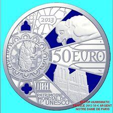 "FRANCE/FRANKREICH 2013 50 EUROS ""NOTRE DAME"" ARGENT SILVER BE/PP/PROOF PREVENTE"
