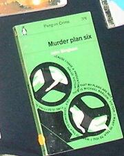 Murder Plan Six John Bingham 1964 Penguin Ed