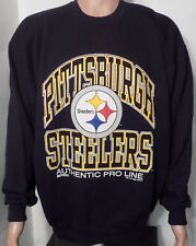 Pittsburgh Steelers Vintage Crewneck Sweashirt (XL) 1995 NFL Made in USA Russell