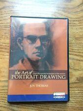 The Art Of Portrait Drawing DVD Joy Thomas Teaching Art Techniques DVD