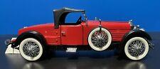 Franklin Mint 1928 Stutz Black Hawk Boattail Speedster 1:24 Diecast Car *READ*