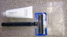 Gillette Einwegrasierer+Rasierschaum 8 ml by 5 Elements, OVP, ungeöffnet