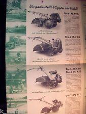 ✪ Prospekt Maschinenfabrik Bungartz & co Bodenfräse Fräse F90, F70, F40, F55, H3